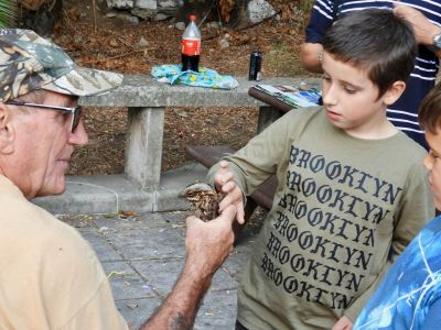 Ray Marsh with Red-necked Nightjar